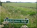 TL5684 : Brickmakers Way near Littleport by Richard Humphrey