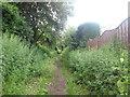 SE2805 : Footpath towards Bull Haw Lane by John Slater