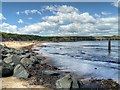 NZ3575 : Rocky Coastline near Curry's Point by David Dixon