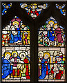 TQ9240 : Stained glass window, Bethersden church by Julian P Guffogg