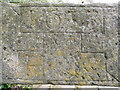 SE0426 : Datestone from the 17C corn mill by Humphrey Bolton