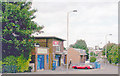 TQ3164 : Waddon Station, exterior by Ben Brooksbank