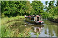 SP6260 : Narrowboat on Grand Union Canal just north of Weedon Bec by David Martin