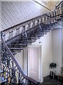 SD8530 : Towneley Hall, Cantilever Staircase by David Dixon