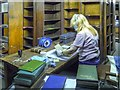SJ8398 : Book Conservation and Restoration, John Rylands Library by David Dixon