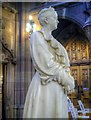 SJ8398 : Enriqueta Rylands' Statue, John Rylands Library by David Dixon