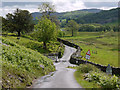 NY3003 : Road junction in Little Langdale by Nigel Brown