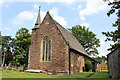 SJ4444 : St Mary Magdalene's, Tallarn Green by Jeff Buck
