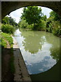 SU2966 : The Canal and towpath under Fore Bridge by D Gore