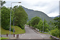 NN1861 : The B863 entering Kinlochleven by Nigel Brown