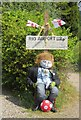 SO4847 : Wellington's World Cup Scarecrows by Richard Webb