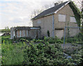 TL3874 : Boarded up house in Earith by Hugh Venables
