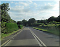 TQ0520 : A29 approaches crossroads with Broomers Hill Lane and Blackgate Lane by Stuart Logan