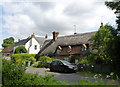 SU6385 : Ipsden Farm Cottages by Alan Murray-Rust