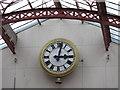 NZ2464 : Clock in Grainger Market by Mike Quinn