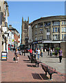 SK3536 : Derby Market Place and Irongate : Week 29