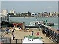 SU6200 : Portsmouth Harbour Ferry Pier by David Dixon
