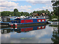 TL2167 : Buckden Marina by Hugh Venables