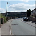 ST0190 : Bus stop in Rhiwgarn, Trebanog by Jaggery