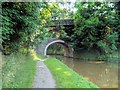 SD9050 : Double Arched Bridge, Leeds and Liverpool Canal by David Dixon