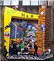 J3374 : Mural, Commercial Court, Belfast : Week 30
