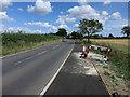TL3666 : Buckingway Road entering Boxworth End by Hugh Venables