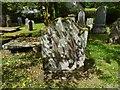 NN3104 : Gravestone of Malcolm MacFarlane by Lairich Rig