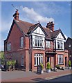 """SP8901 : """"The White Lion"""" public house by Julian Osley"""