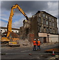 TA1028 : Demolition of  Hull's Wholesale Fruit Market Area : Week 32