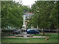 TL2985 : War Memorial, Ramsey by JThomas