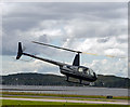 NM9035 : G-DAVG leaving Oban Airport by TheTurfBurner