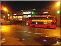 TQ1883 : Bus by the Clay Oven, Alperton by David Howard