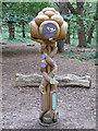 TM4766 : Wood sculpture, RSPB Minsmere by Roger Jones