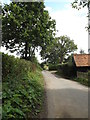 TM0733 : Footpath & lane to Flatford Mill by Adrian Cable