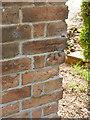 SK7775 : Bench mark, Manor farm, East Drayton by Alan Murray-Rust