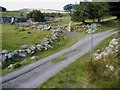 SH7370 : Footpaths Hafoty Gwyn by Christopher Hall