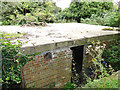 TM3545 : Four inch gun emplacement at Hollesley Heath by Adrian S Pye