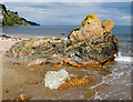 NH7459 : Distinctive rock near Scart Craig : Week 35