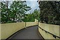 TL4559 : Pretoria Road Footbridge over the Cam by Kim Fyson