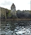 NR2947 : Soldier's Rock from the sea, Islay by Becky Williamson