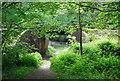 TQ5638 : Railway bridge by High Rocks Lane by N Chadwick