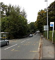SJ8481 : Manchester Road bus stops, Wilmslow by Jaggery