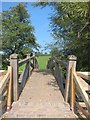 ST6264 : Footbridge across the River Chew between Publow and Woolard by Dr Duncan Pepper