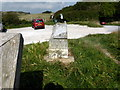 TQ5701 : Footpath to Friston Sign by PAUL FARMER
