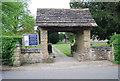 TQ1926 : Lych gate, Church of St Andrew by N Chadwick