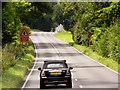SU5329 : Westbound A31 near Turnpike Cottages by David Dixon