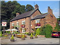 SJ5765 : The Alvanley Arms, Cotebrook by Jeff Buck