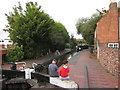 SO8554 : The Worcester and Birmingham Canal by Oast House Archive