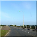 TL6868 : B1085 Dane Hill Road & bridge over the A11 by Adrian Cable
