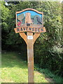 TL0753 : Ravensden Village sign by Philip Jeffrey